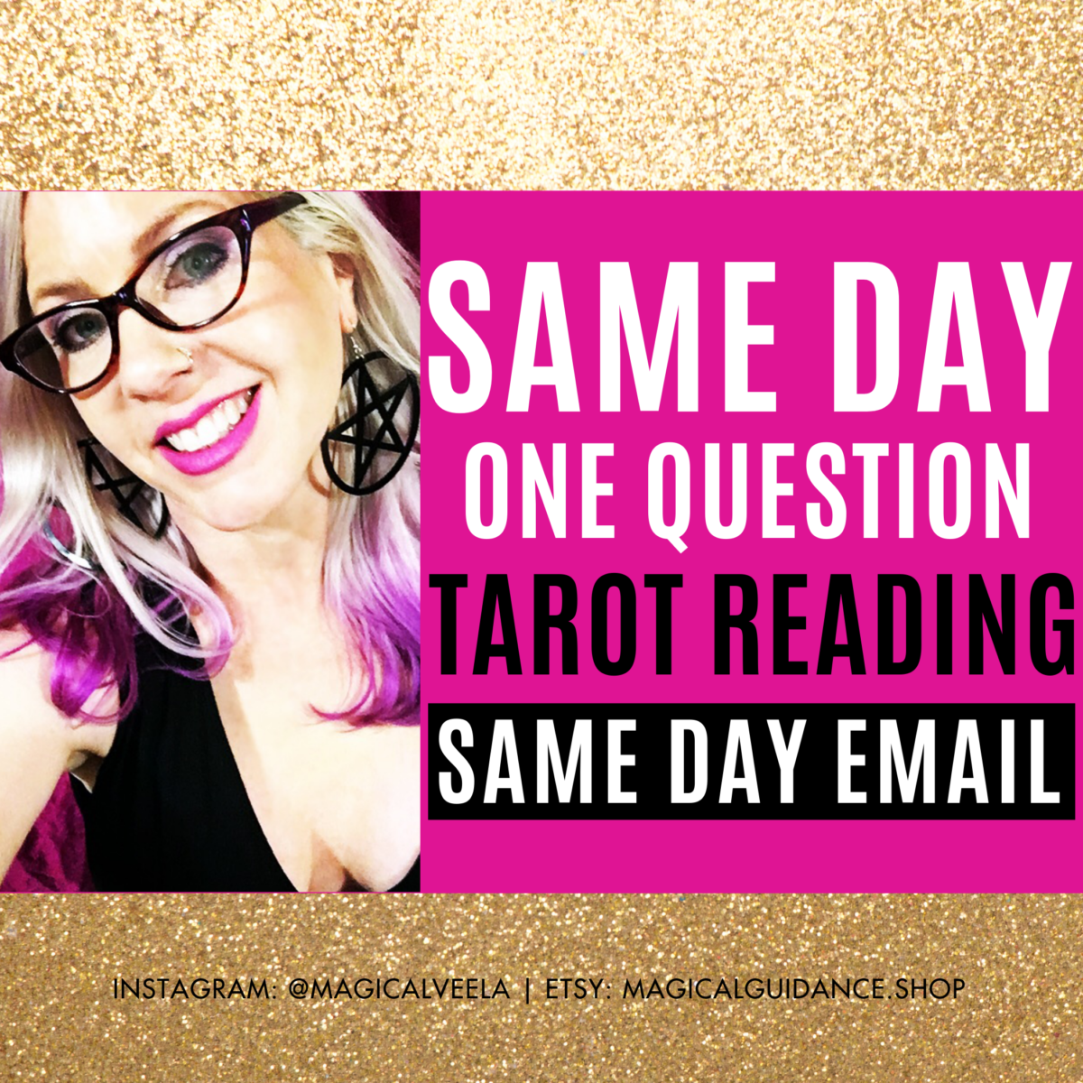 fast same day one question tarot reading psychic etsy | magicalguidance.com